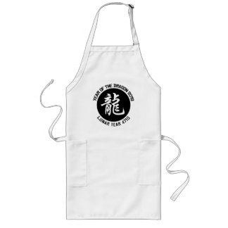 Lunar Year 4710 Chinese New Year 2012 Apron