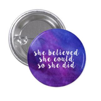Luna's Inspirational Button