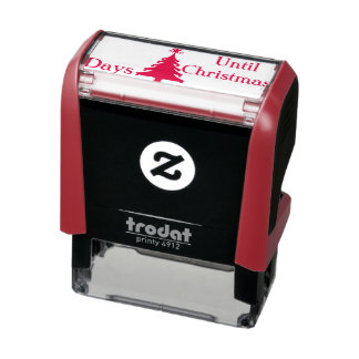 Lunch Bag Christmas Count Down Stocking Stuffer Self-inking Stamp