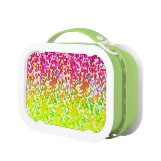 Lunch Box Glitter Graphic