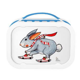 Lunch box to skier rabbit who will win the RACE
