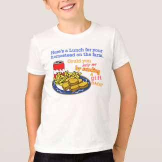 """""""Lunch for Your Homestead"""" Game T-Shirt"""
