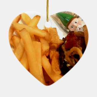 Lunch Gnome Christmas Ornament