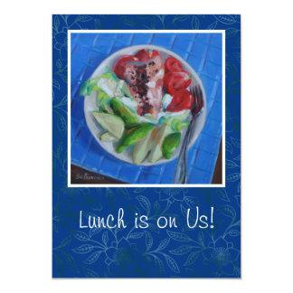 """Lunch Invitation 5"""" X 7"""" Invitation Card"""