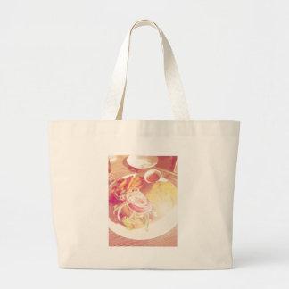 Lunch.jpg Tote Bags