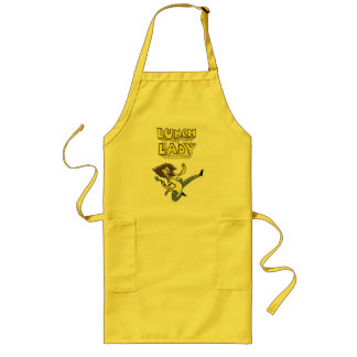 Lunch Lady apron