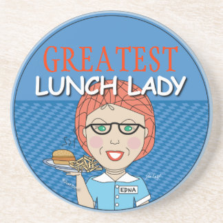 Lunch Lady Award - Customizable Coasters