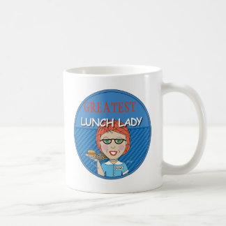 Lunch Lady Award - Customizable Classic White Coffee Mug