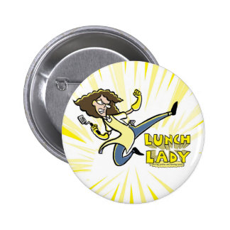 Lunch Lady button
