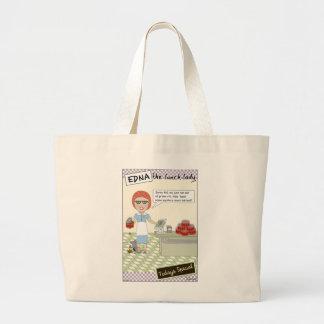 Lunch Lady Jumbo Tote Bag