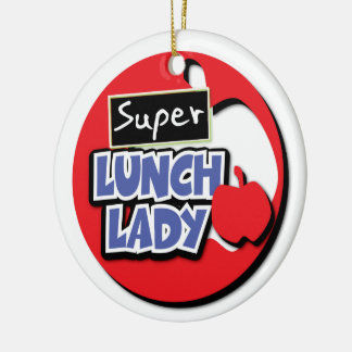 Lunch Lady - Super Christmas Ornament