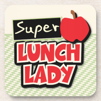Lunch Lady - Super Lunch Lady Beverage Coaster