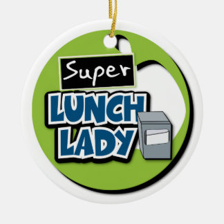 Lunch Lady - Super Lunch Lady Christmas Ornament