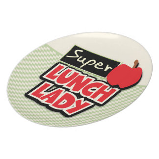 Lunch Lady - Super Lunch Lady Dinner Plate