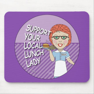 Lunch Lady - Super Lunch Lady Mouse Pad
