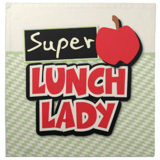 Lunch Lady - Super Lunch Lady Napkin