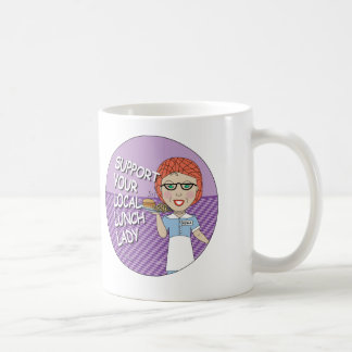 Lunch Lady Support Coffee Mug