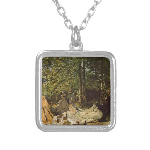 Lunch on grass pendant