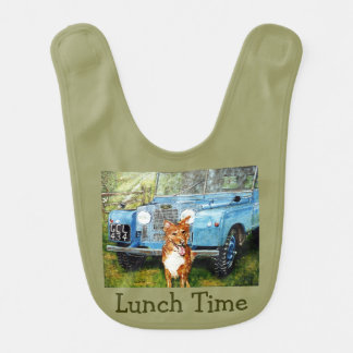 Lunch Time Baby Bib
