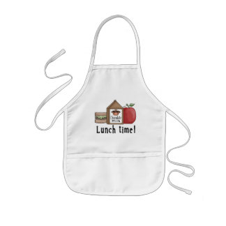 Lunch Time Kids Apron