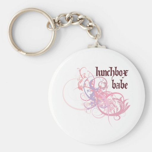 Lunchbox Babe Key Chain