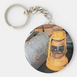 LunchBox Basic Round Button Key Ring