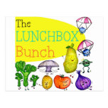 Lunchbox Bunch Logo Postcards