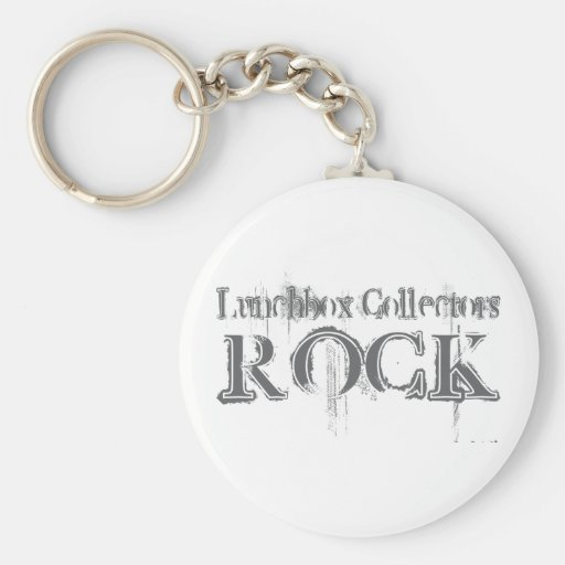 Lunchbox Collectors Rock Key Chains