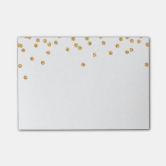 LUNCHBOX LOVE NOTE modern confetti glitter gold