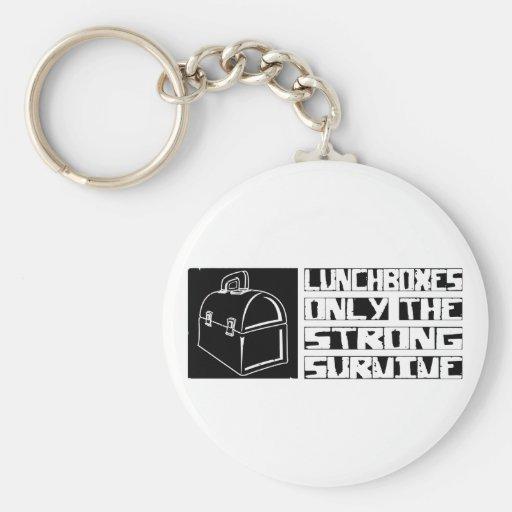 Lunchbox Survive Keychains