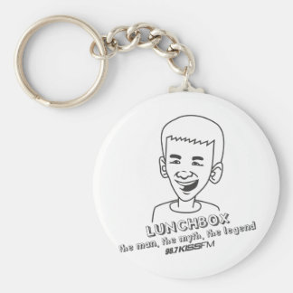 Lunchbox The Man, The Myth, The Legend Basic Round Button Key Ring