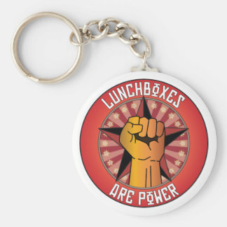 Lunchboxes Are Power Keychain