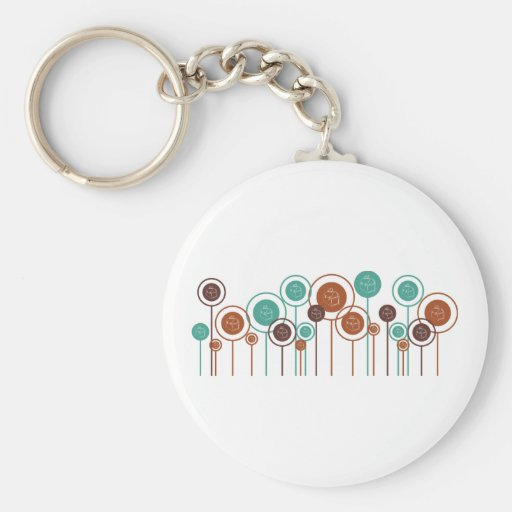 Lunchboxes Daisies Key Chains