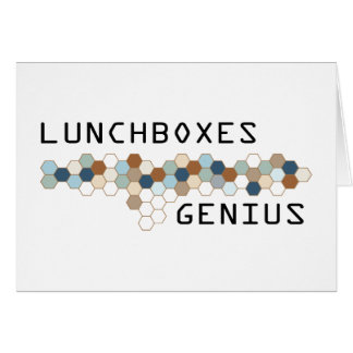 Lunchboxes Genius Cards