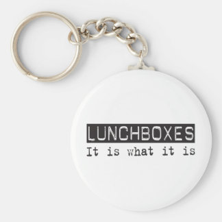 Lunchboxes It Is Basic Round Button Key Ring
