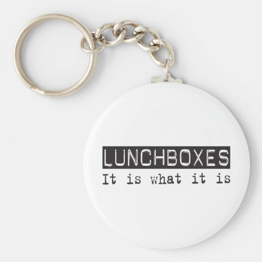 Lunchboxes It Is Keychains