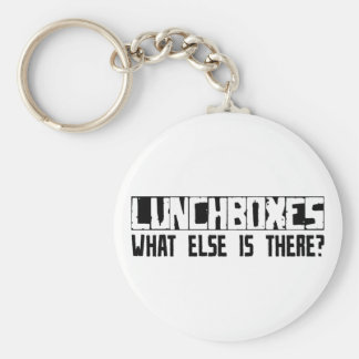 Lunchboxes What Else Is There? Basic Round Button Key Ring