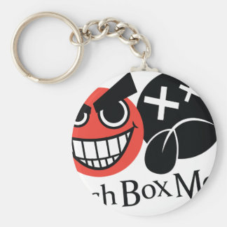 LunchBoxMode Logo items Basic Round Button Key Ring