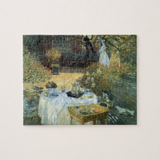 Luncheon by Claude Monet, Vintage Impressionism Jigsaw Puzzle