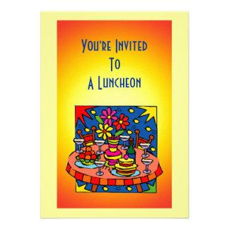 Luncheon Dinner Invitation