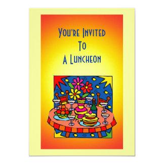 "Luncheon/Dinner Invitation 5"" X 7"" Invitation Card"