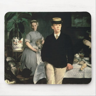 Luncheon in the Studio, 1868 Mouse Pad