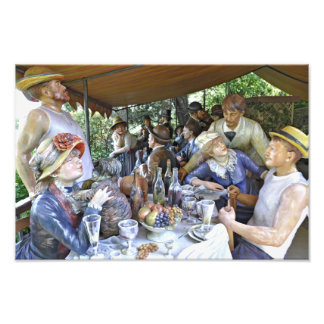 Luncheon of the Boating Party Photographic Print