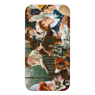 Luncheon of the Boating Party, Renoir Cover For iPhone 4