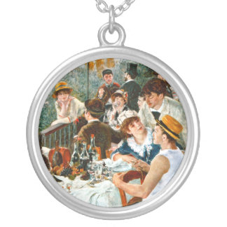 Luncheon of the Boating Party, Renoir Custom Necklace