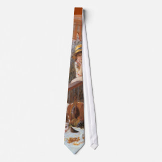 Luncheon of the Boating Party Tie