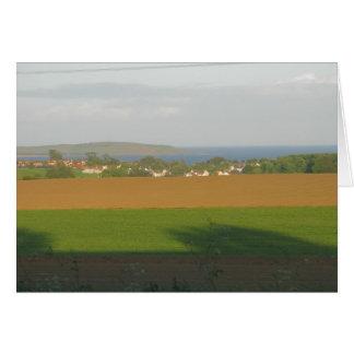 Lundin Links, Fife, Scotland Note Card
