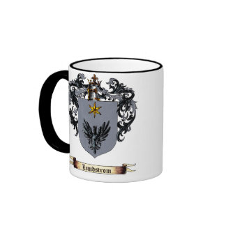 Lundstrom Shield of Arms Mug