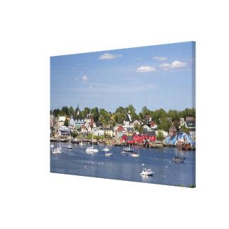 Lunenberg, Nova Scotia, Canada. 2 Canvas Print