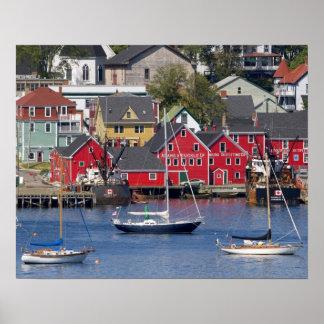 Lunenberg, Nova Scotia, Canada. 3 Poster